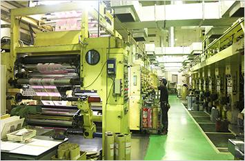 グループ工場の一貫生産で中間コストをカット