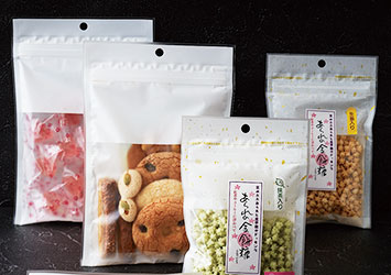 食品用規格袋実績1