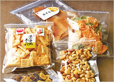 中に入れるものによって袋の素材が適したもの、適していないものがあります。